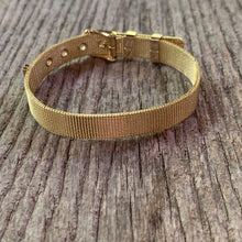 Load image into Gallery viewer, Gold Buckle Bracelet