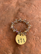 Load image into Gallery viewer, Brass Tag Collection Bracelet #171