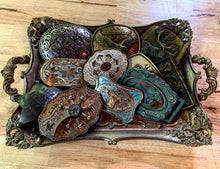 Load image into Gallery viewer, Vintage Running Horse Belt Buckle with Gorgeous Patina