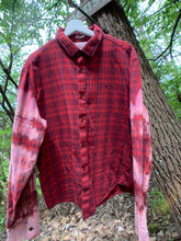 Load image into Gallery viewer, Men's Vintage Penguin Distressed Flannel