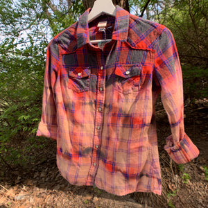 Vintage Distressed Flannel