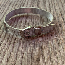 Load image into Gallery viewer, Silver Buckle Bracelet