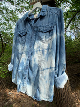 Load image into Gallery viewer, Vintage Distressed Denim Shirt