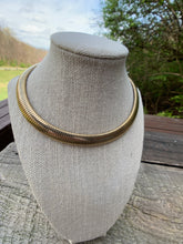 Load image into Gallery viewer, Vintage Gold Statement Necklace