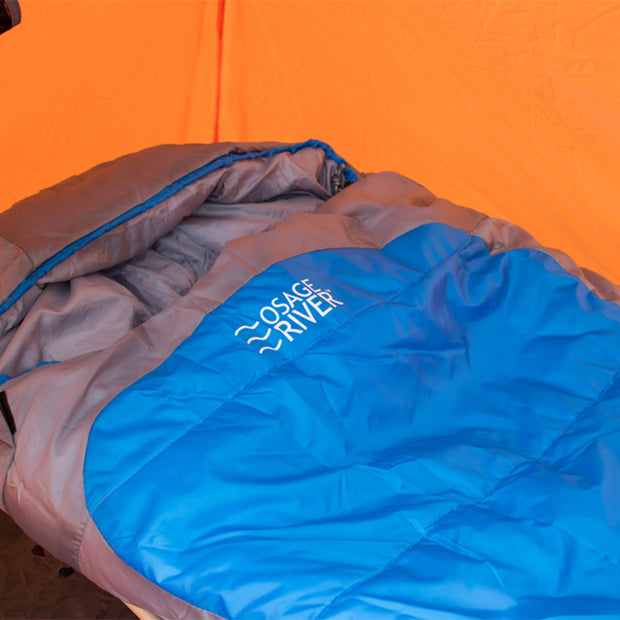 Osage River Mummy Zero Degree Sleeping Bag