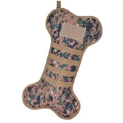 Osage River Ruck Up Dog Christmas Stocking for Pets with Tactical MOLLE Webbing