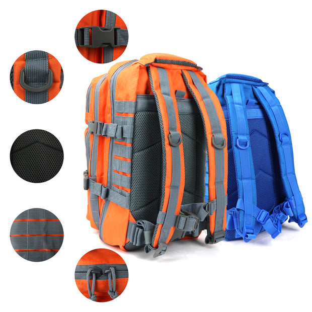 Fishing Backpack with Tackle and Rod Storage
