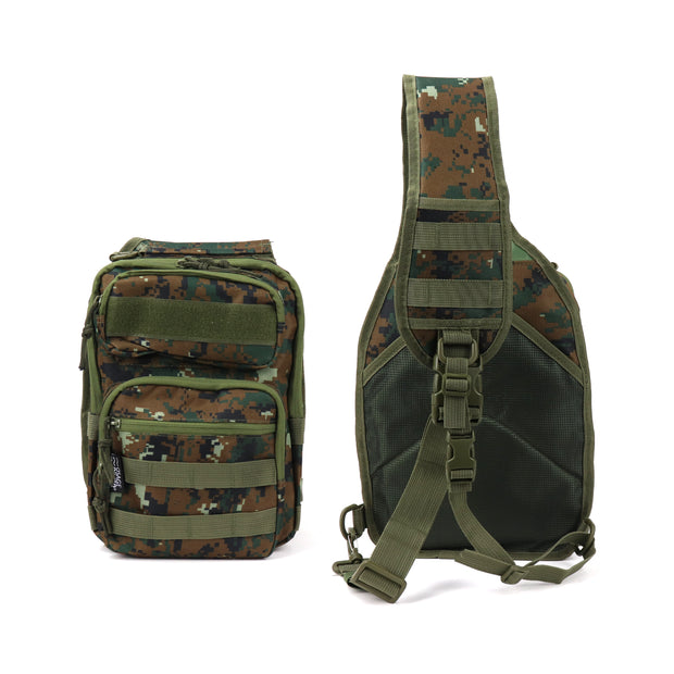 Fishing Sling Bag, Water Resistant Tackle Storage