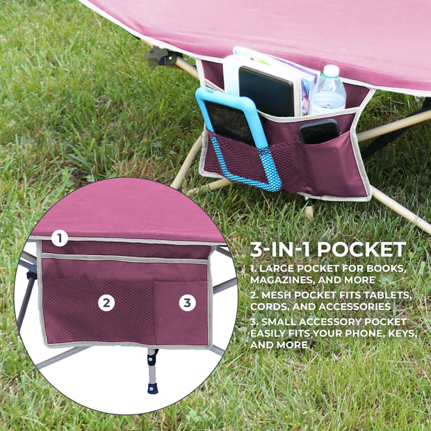 Comfortable and Lightweight Standard Folding Camping Cot