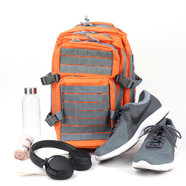 Gym Backpack, Gear Storage and Protection, Abrasion and Water Resistant, with MOLLE System