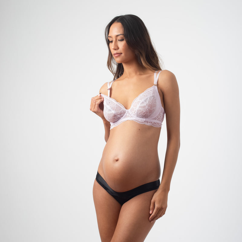 Heroine lace nursing bra for pregnant women by projectme