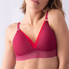 ambition triangl projectme breastfeeding nursing bra sangria