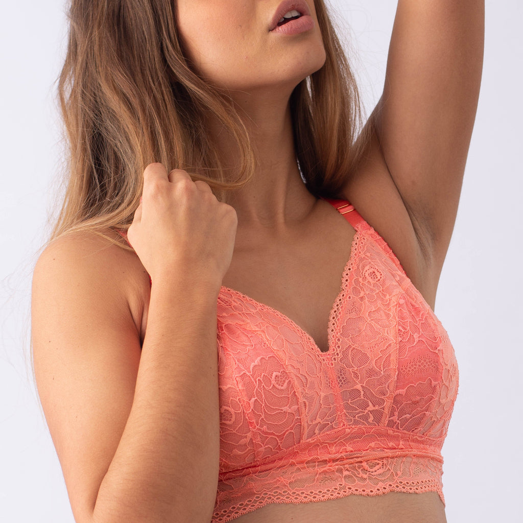 PROJECTME Heroine Bralette Sunset - Maternity