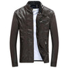 BuffEagle Slim Leather Bomber