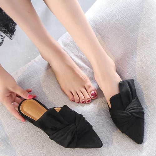 Summer Fashion Flat Slippers Pointed Shoes