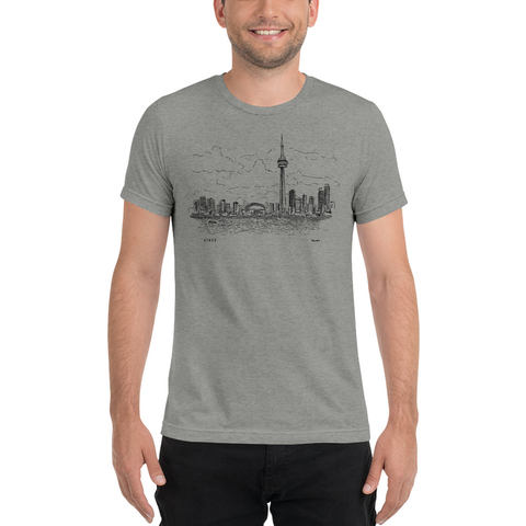 4THE6 | Toronto Skyline T-Shirt