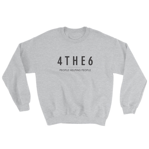 4THE6 | Crewneck Sweatshirt [SPORT GREY]