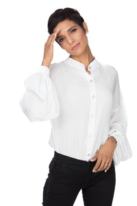 Lali Classic Buttoned Down Blouse