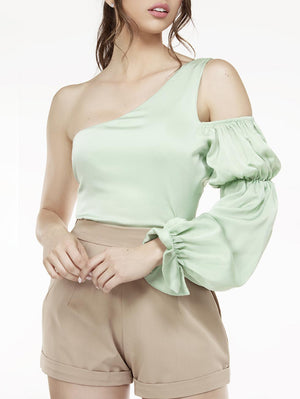 Arlene One Shoulder Blouse