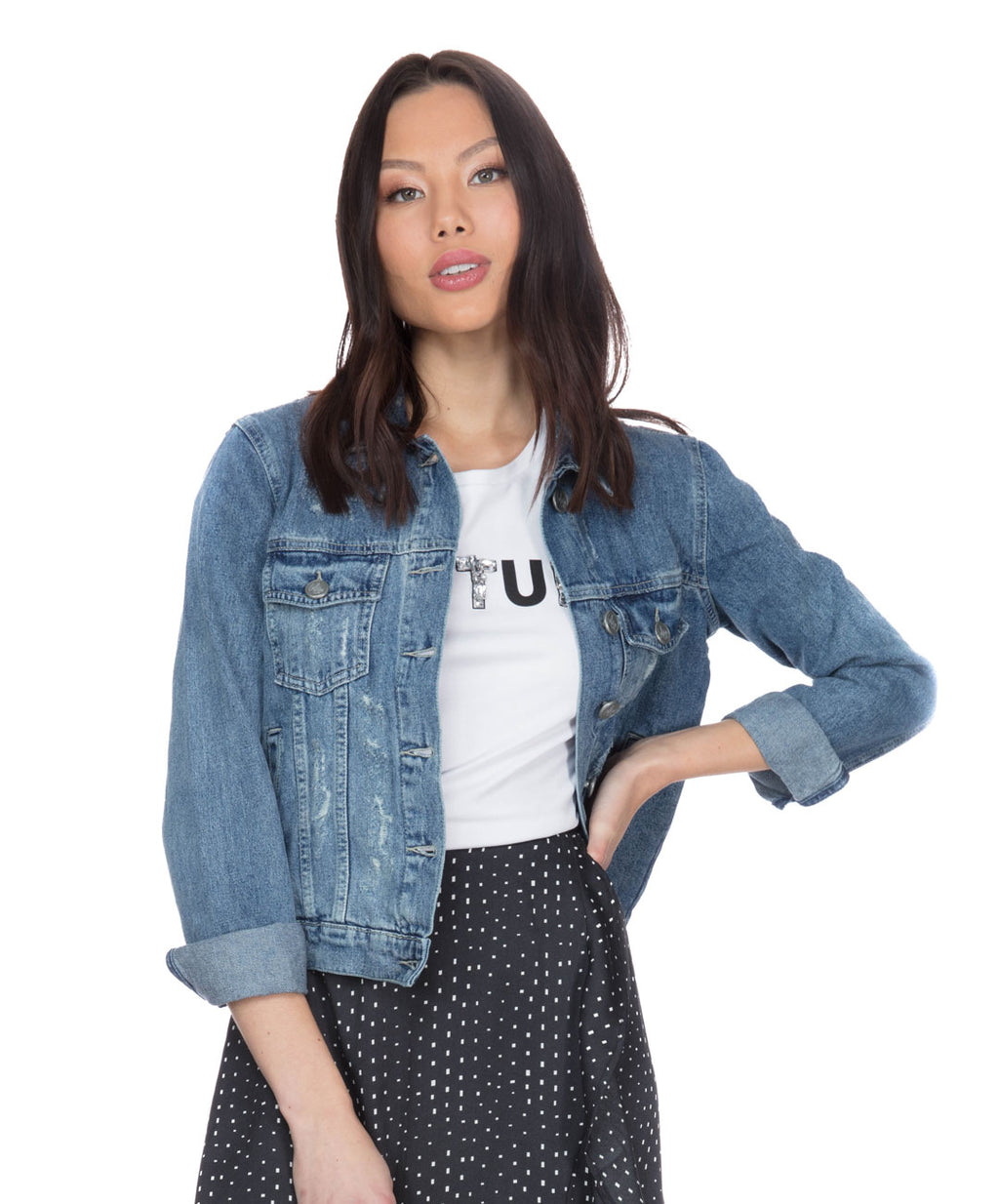 Classic Short Denim Jacket