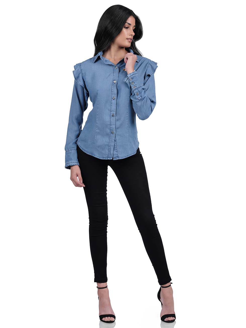 Cynthia Long Sleeve Blouse