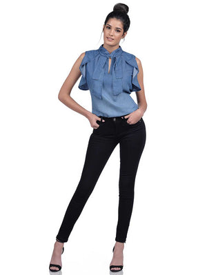 View: 3: Aimae Martha Denim Top