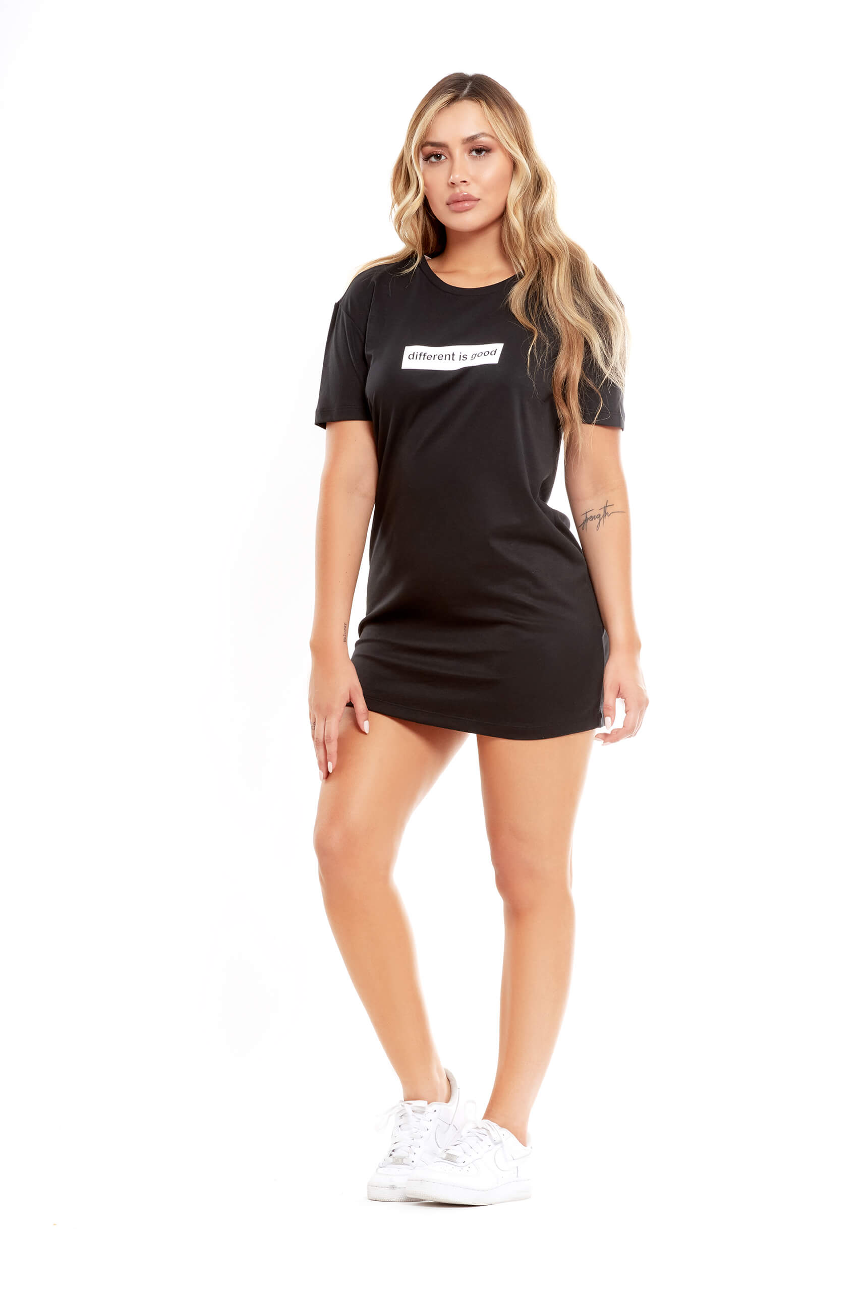 Different is Good T-Shirt Dress