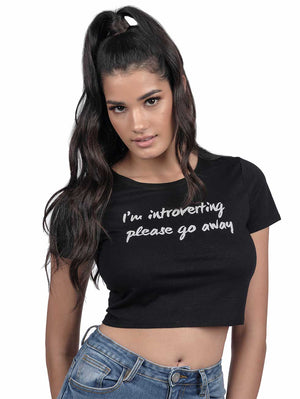 Introverting Crop T