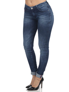 Mandy Medium Waist Jeans
