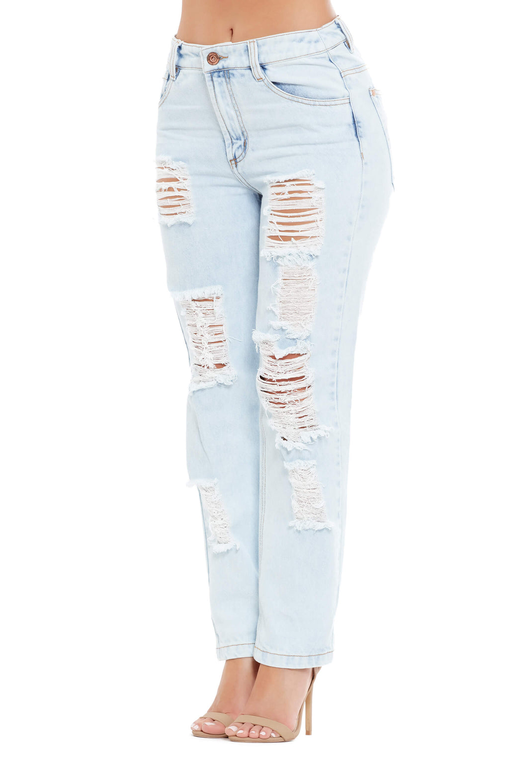Ripped Boy Friend Jeans