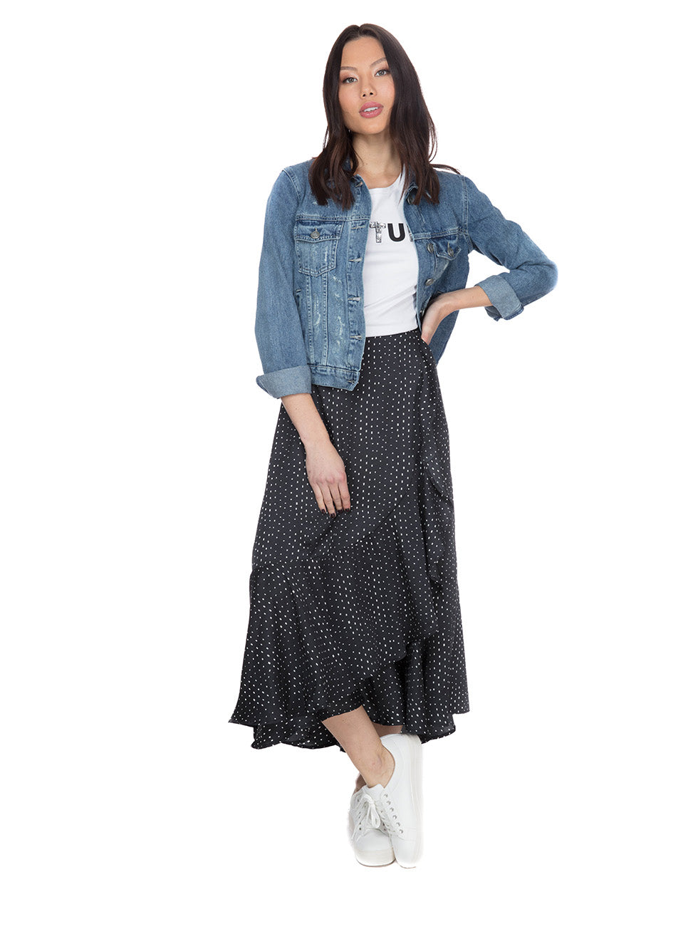 Maca Ankle Skirt