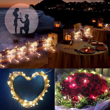 Load image into Gallery viewer, Boho Solar Powered Garden Fairy Lights