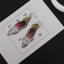 Load image into Gallery viewer, Butterfly Wing Earrings