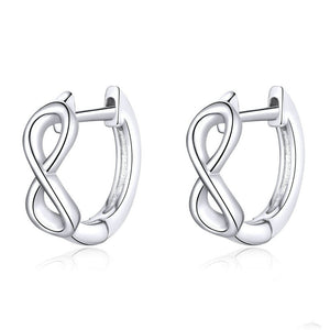 Infinity Ribbon Earrings