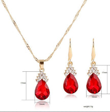 Load image into Gallery viewer, Replica Diamond Jewelry Set