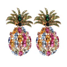 Load image into Gallery viewer, Funky Pineapple Earrings
