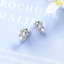 Load image into Gallery viewer, Double Star Earrings