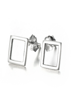 Simple Square Earrings