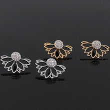 Load image into Gallery viewer, Lotus Flower Earrings