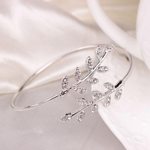 Adjustable Leaf Bracelet