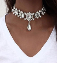 Load image into Gallery viewer, Boho Collar Waterdrop Crystal