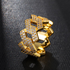 Swiss Crystal Geometric Band