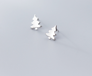 Cute Christmas Tree Earrings