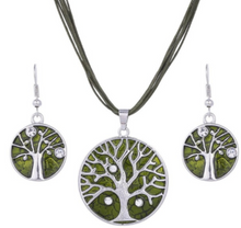 Load image into Gallery viewer, Tree of Life Jewellery Sets
