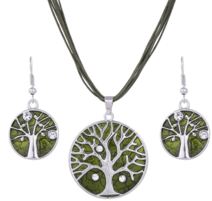 Tree of Life Jewellery Sets