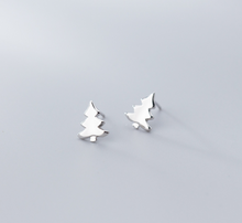 Load image into Gallery viewer, Cute Christmas Tree Earrings