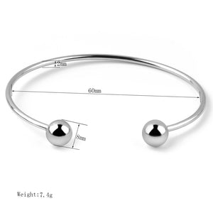 2PCS Adjustable Cuff Bangle