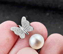 Load image into Gallery viewer, Butterfly Faux Pearl Ring