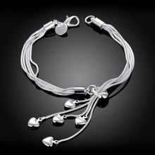Load image into Gallery viewer, Multi Heart Bracelet