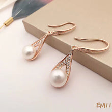 Load image into Gallery viewer, Water Drop Pearl Earrings